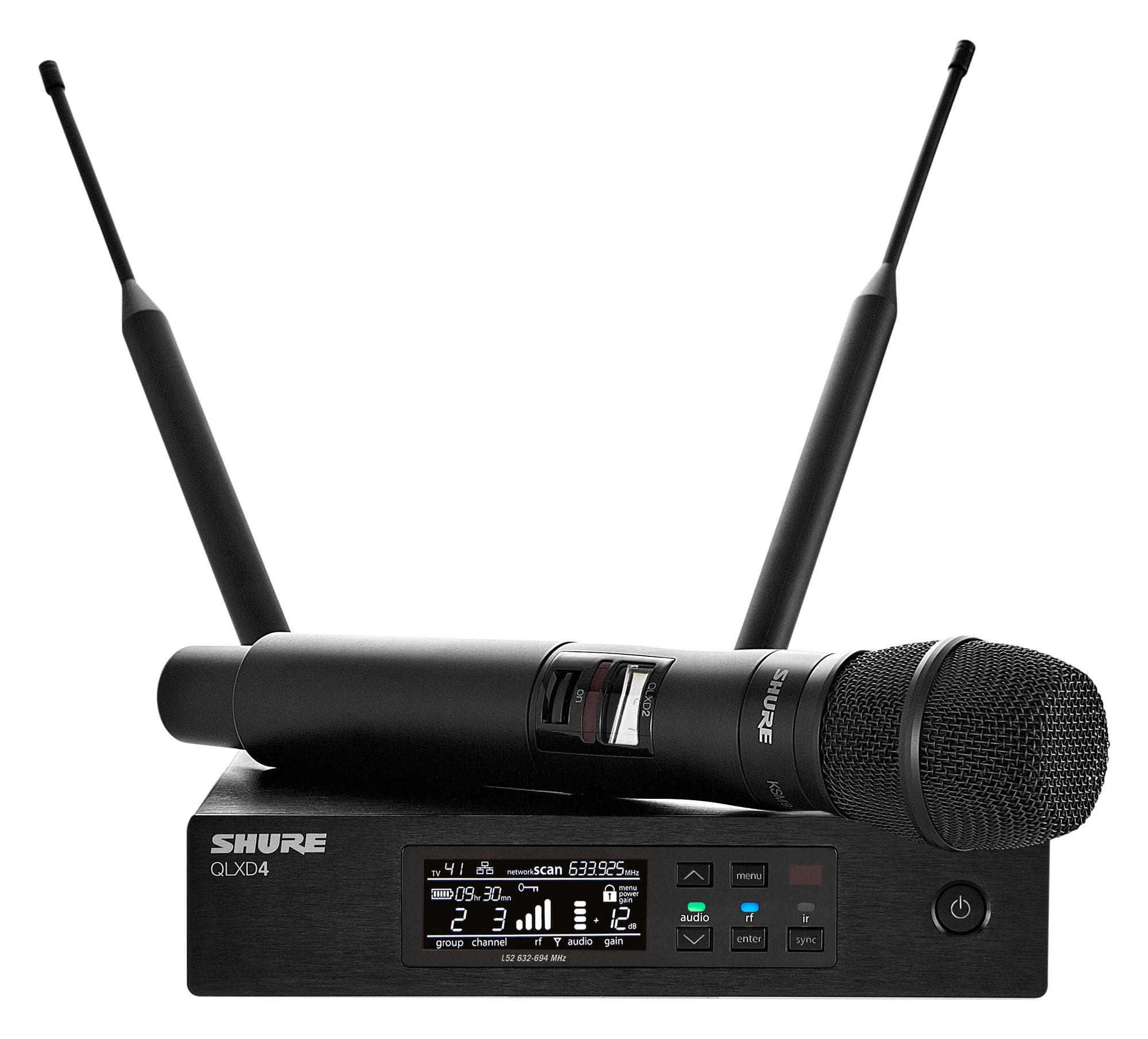 Mikrofone - Shure QLXD24 KSM9 Digital Vocal Funksystem Retoure (Zustand sehr gut) - Onlineshop Musikhaus Kirstein