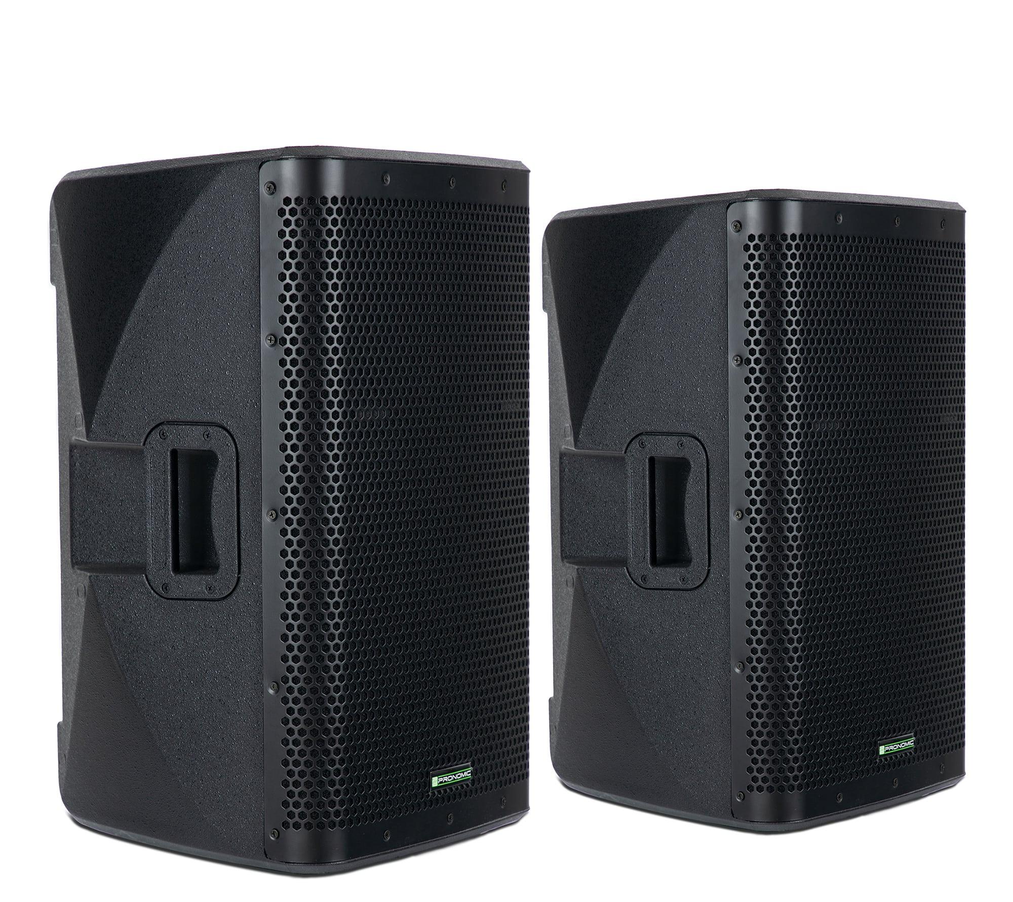 Paboxen - Pronomic C 212 MA 12 Aktivbox 2000 Watt Stereo Set - Onlineshop Musikhaus Kirstein
