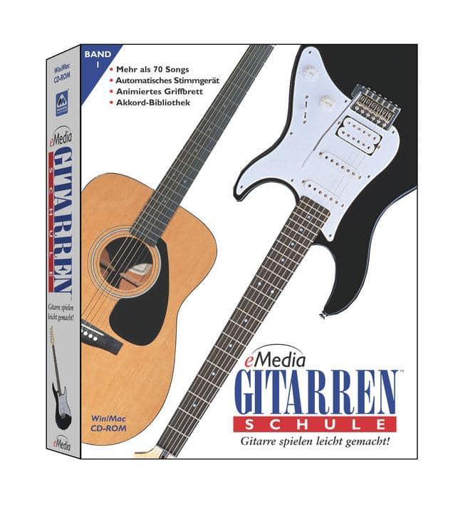 Gitarrelernen - eMedia Gitarrenschule für Anfänger, Vol. 1 - Onlineshop Musikhaus Kirstein