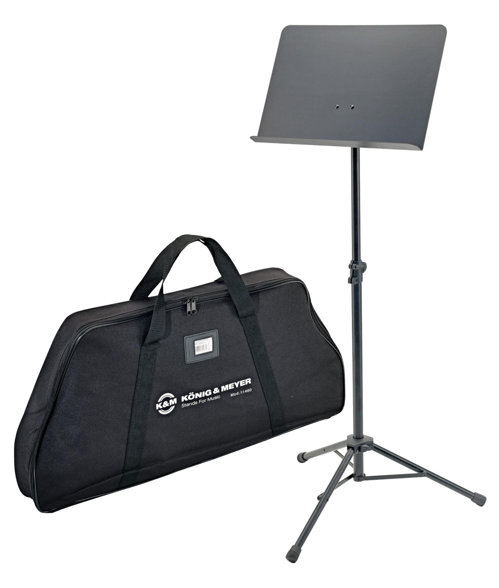 Musikerzubehoer - K M 11960 Orchesterpult Set inkl. Tasche - Onlineshop Musikhaus Kirstein