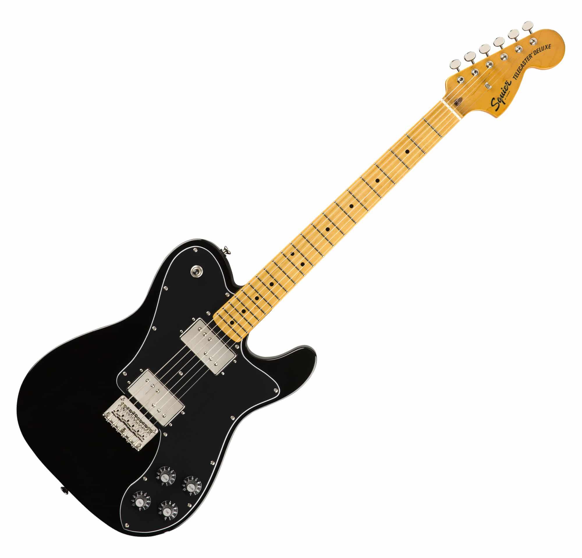 Egitarren - Fender Squier Classic Vibe '70s Tele Deluxe MN BLK - Onlineshop Musikhaus Kirstein