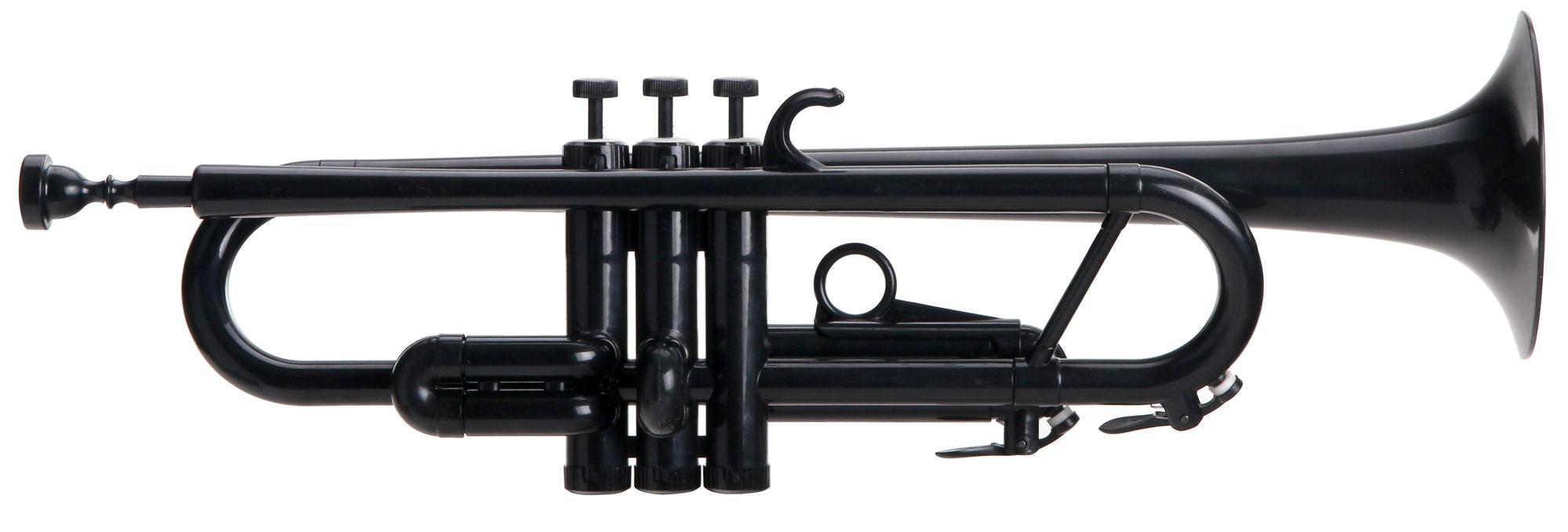 Classic Cantabile TROMBA Bb Jazz Kunststofftrompete schwarz