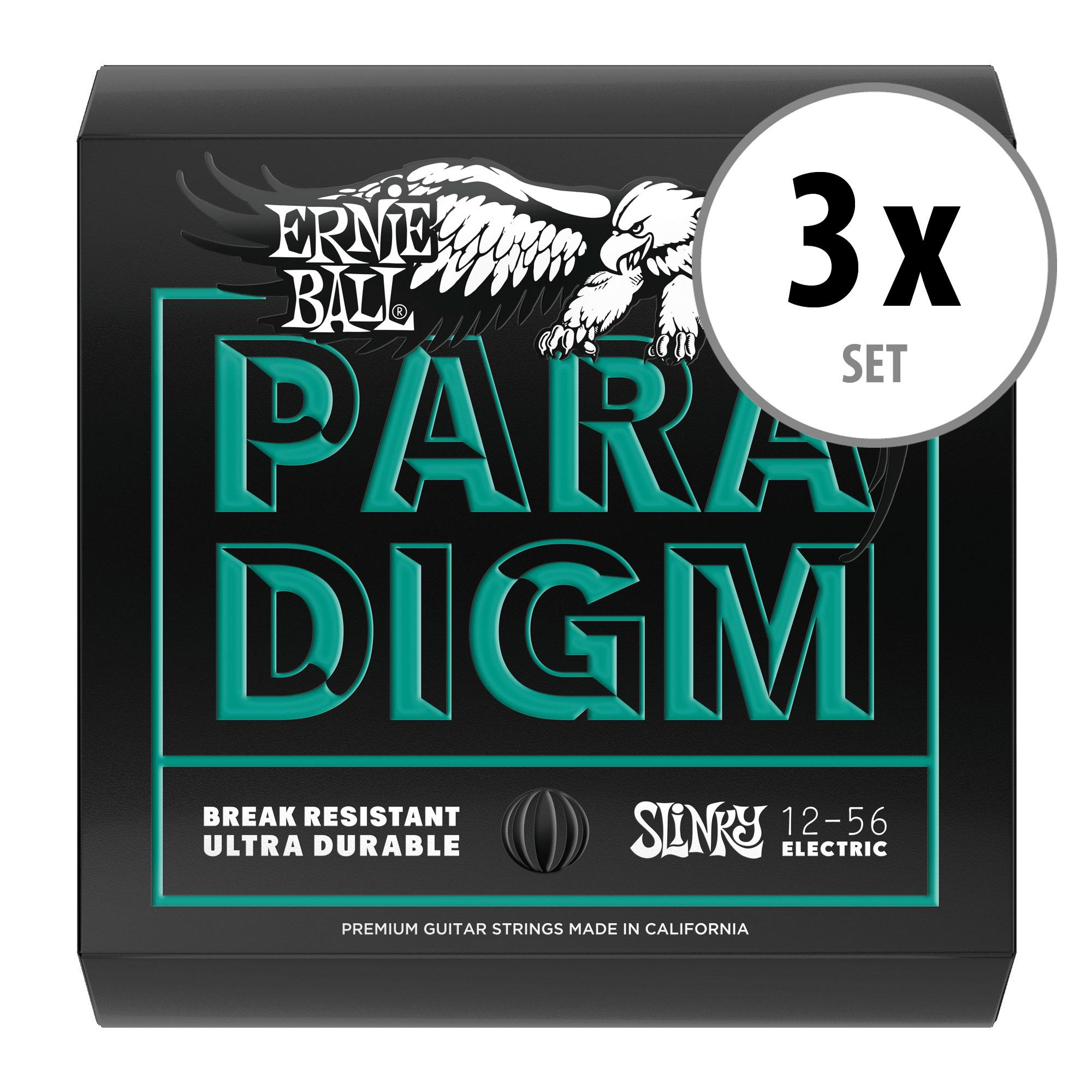 3er Set Ernie Ball 2026 Paradigm Not Even Slinky