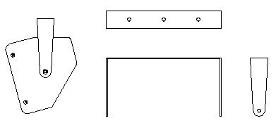 Acoustic Line Aufnahmebügel für TSMini Quermontage