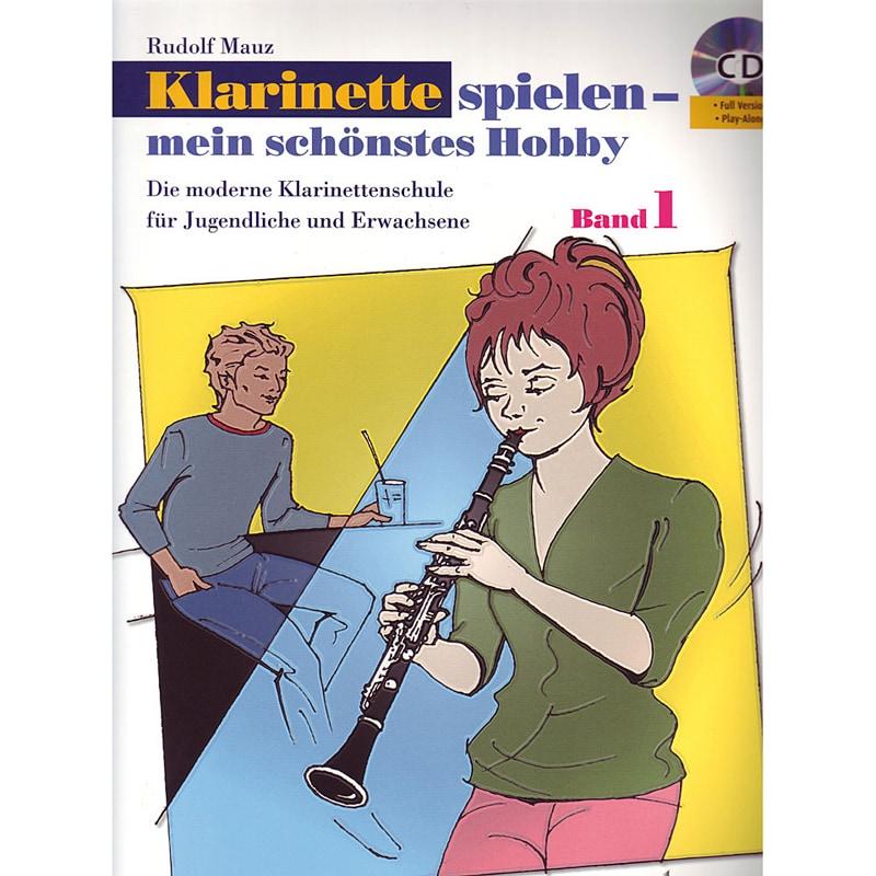 Klarinettelernen - Klarinette spielen mein schönstes Hobby Band 1 CD - Onlineshop Musikhaus Kirstein