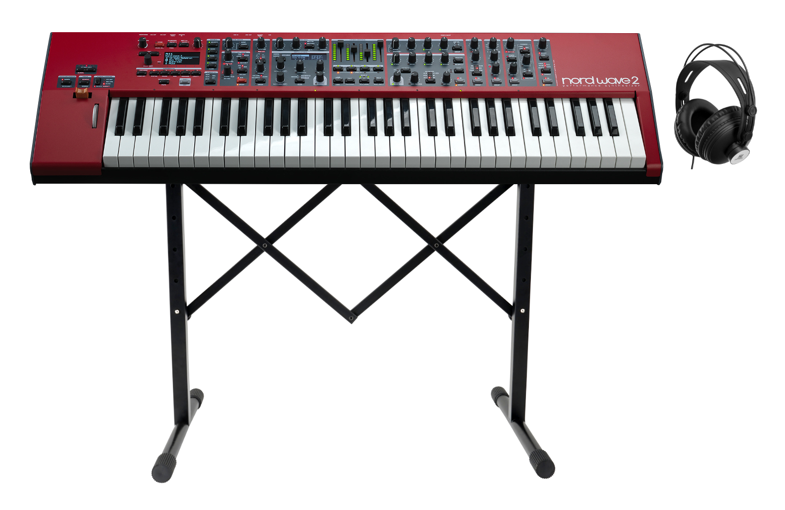 Synthesizer - Clavia Nord Wave 2 Performance Synthesizer Set - Onlineshop Musikhaus Kirstein