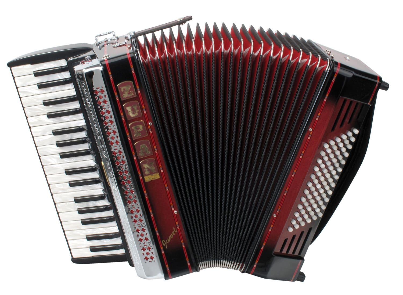 Akkordeons - Zupan Juwel III 72 MH Akkordeon Shadow Red Retoure (Zustand wie neu) - Onlineshop Musikhaus Kirstein