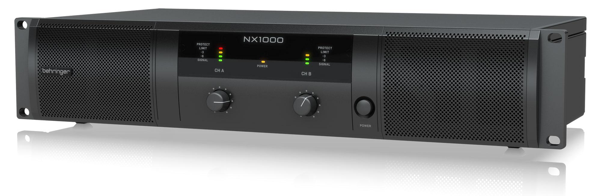 Paendstufen - Behringer NX1000 Endstufe Retoure (Zustand akzeptabel) - Onlineshop Musikhaus Kirstein