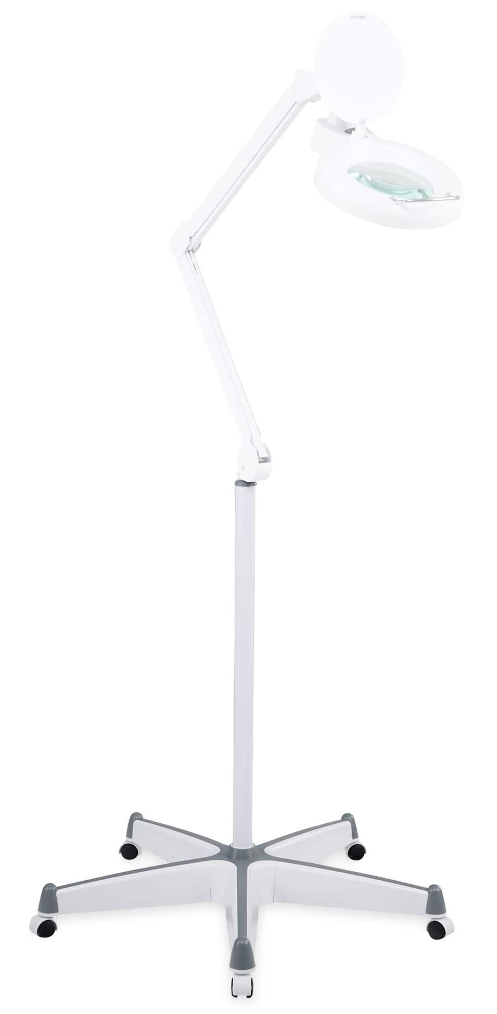 Showlite LL 6085 D LED Lupenleuchte 60 x SMD LED 8W 5 Dioptrien Set inkl. Rollenstativ