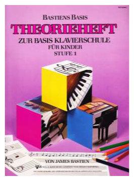 Klavierlernen - Bastien Piano Basics Klavierschule Theorie Stufe 1 - Onlineshop Musikhaus Kirstein