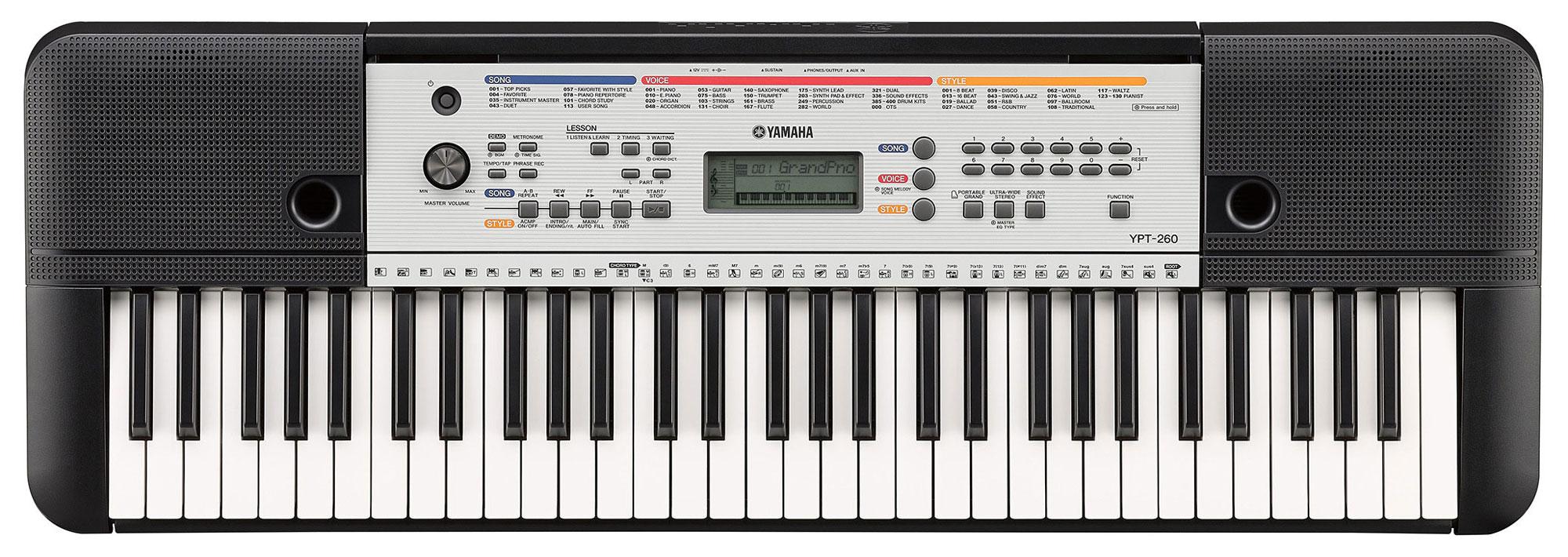Yamaha YPT 260 Keyboard