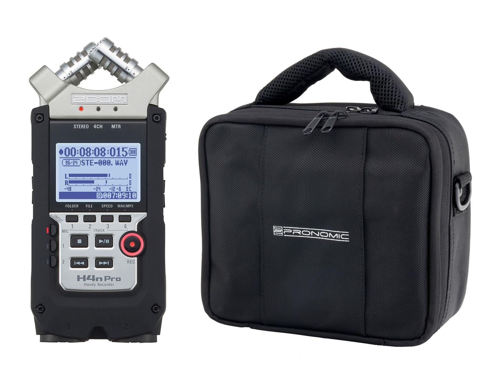 Zoom H4n Pro/RB-Flex Bag Bundle