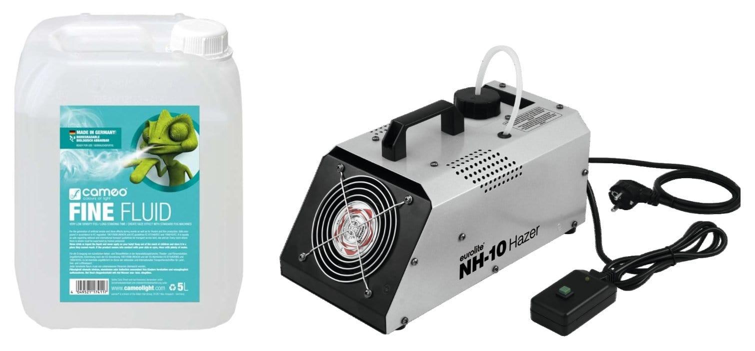 Eurolite NH 10 Dunstnebelmaschine mit 5L Nebelfluid