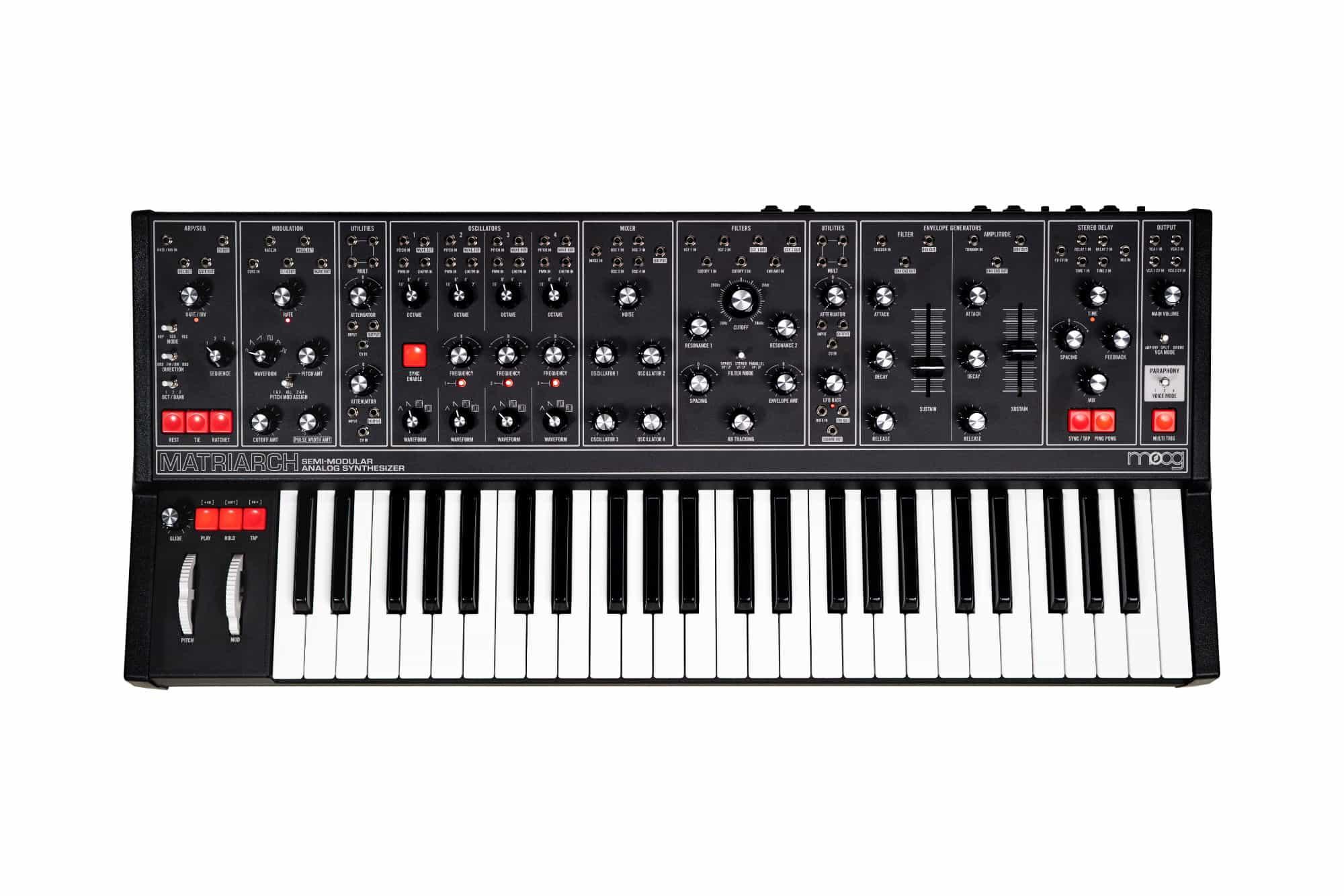 Synthesizer - Moog Matriarch Dark - Onlineshop Musikhaus Kirstein