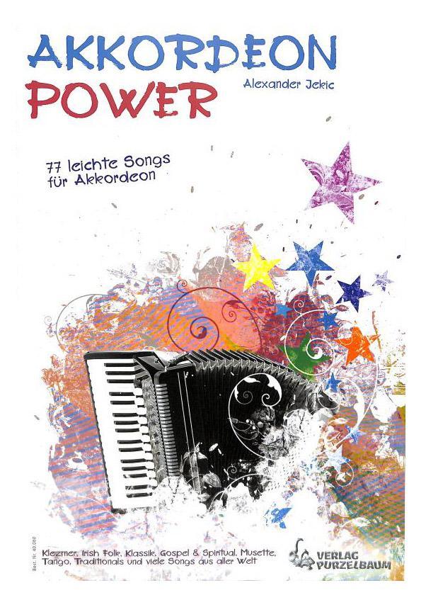 Akkordeonlernen - Akkordeon Power - Onlineshop Musikhaus Kirstein