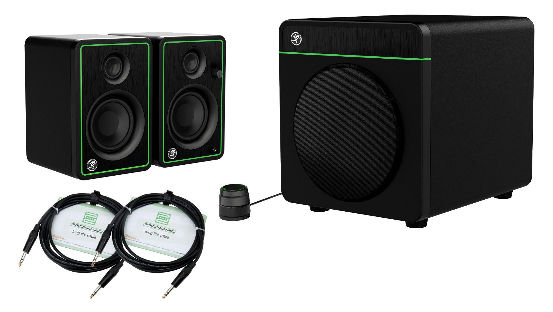 Studiomonitore - Mackie CR3 X Multimedia Bluetooth 2.1 Soundsystem - Onlineshop Musikhaus Kirstein