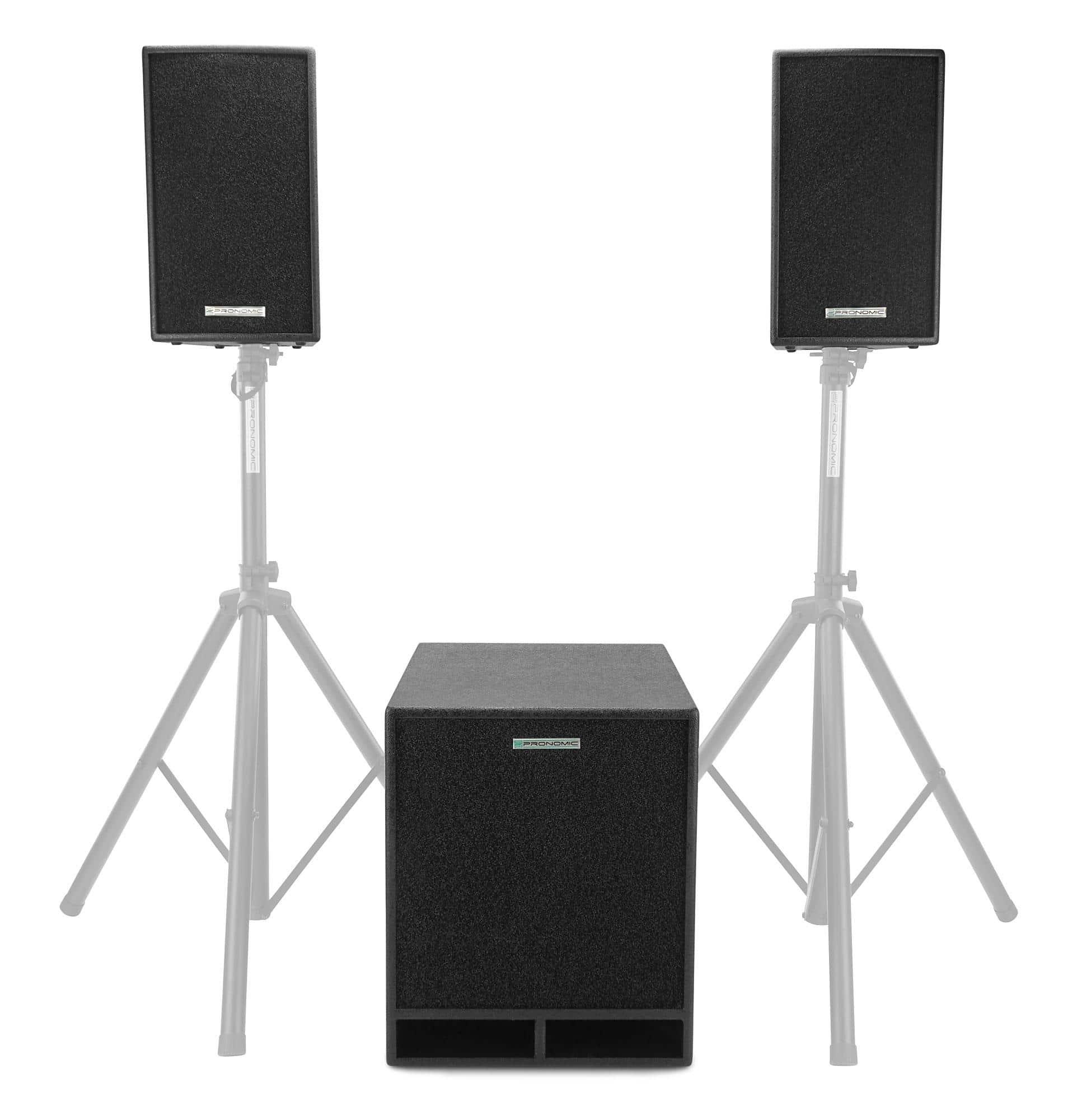 pronomic xl 3d aktiv system. Black Bedroom Furniture Sets. Home Design Ideas