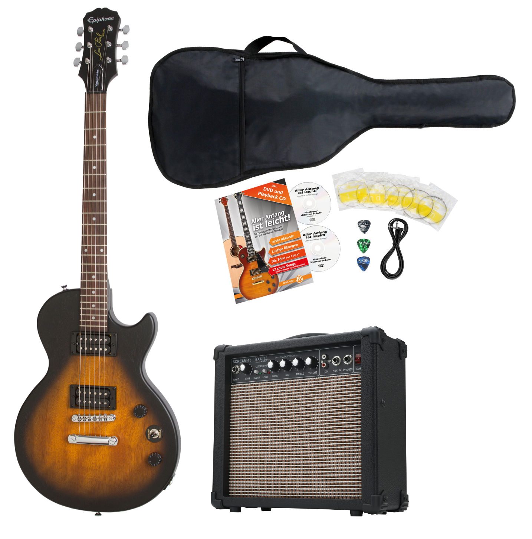 Egitarren - Epiphone Les Paul Special VE VWVS E Gitarre Set - Onlineshop Musikhaus Kirstein