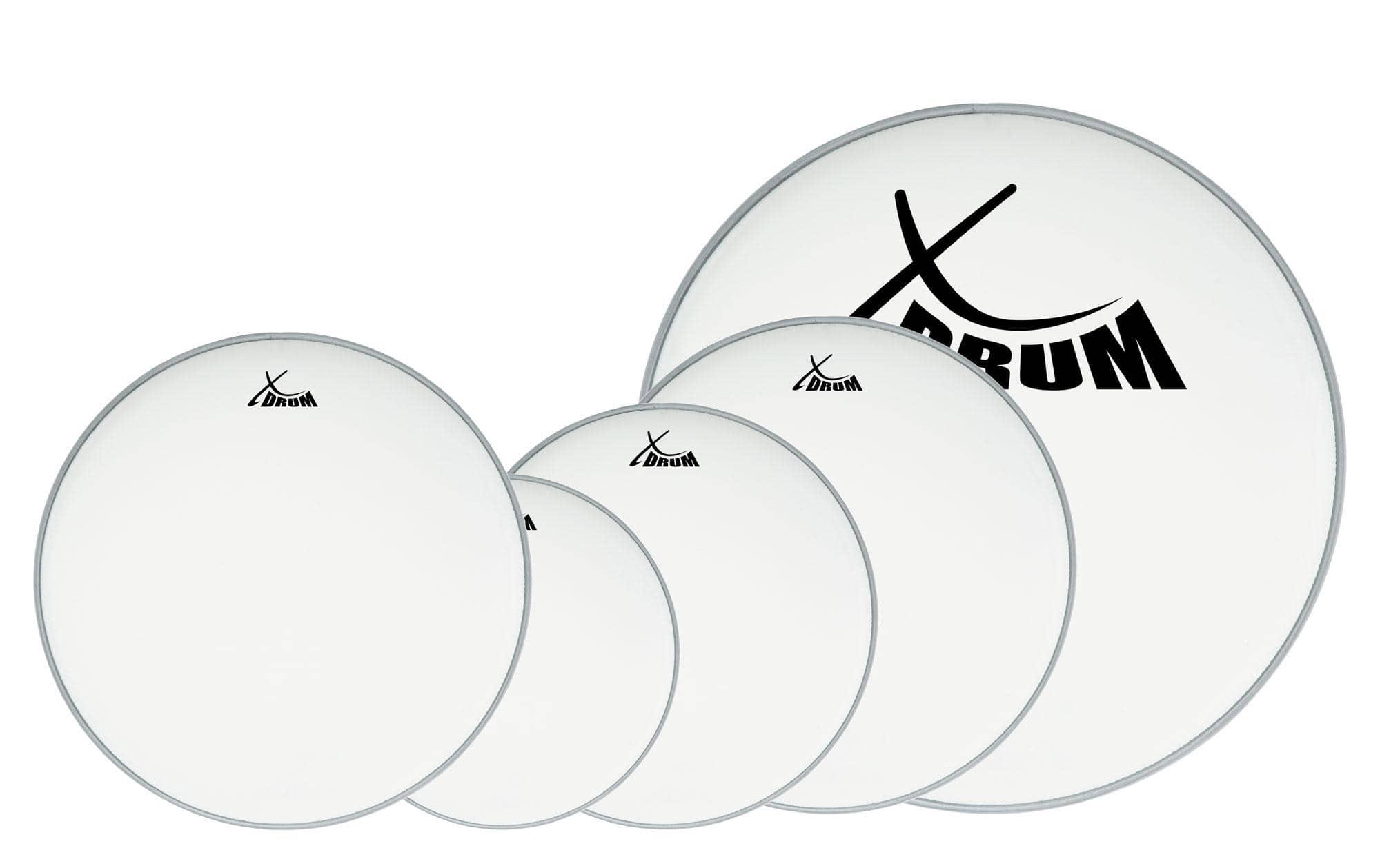 XDrum Coated Drumfell SET 10' 12' 14' 20' 14'