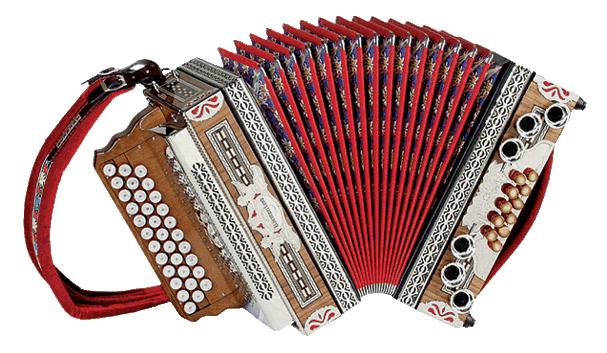 Kärntnerland Show-Harmonika 4 reihig