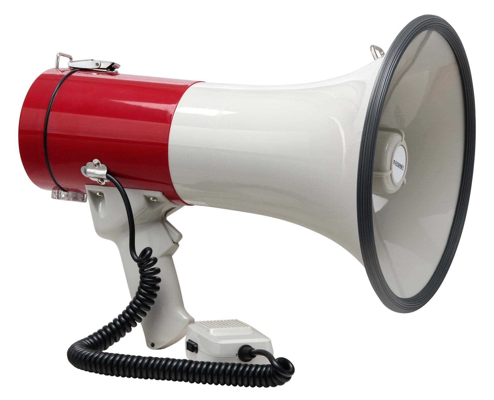 McGrey MP 500HS Megaphon, max. 80 Watt, 1000m