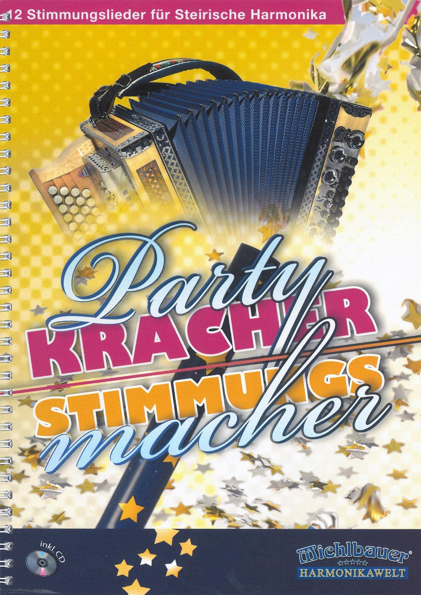 Akkordeonlernen - Partykracher Stimmungsmacher - Onlineshop Musikhaus Kirstein