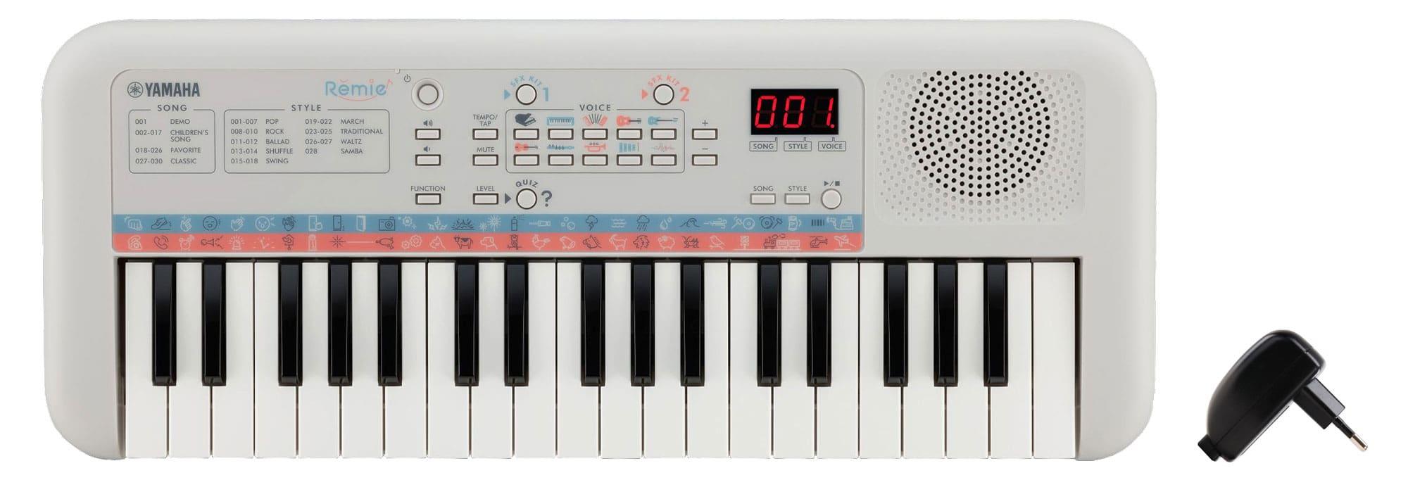 Homekeyboards - Yamaha Remie PSS E30 Keyboard Set inkl. USB Netzteil - Onlineshop Musikhaus Kirstein