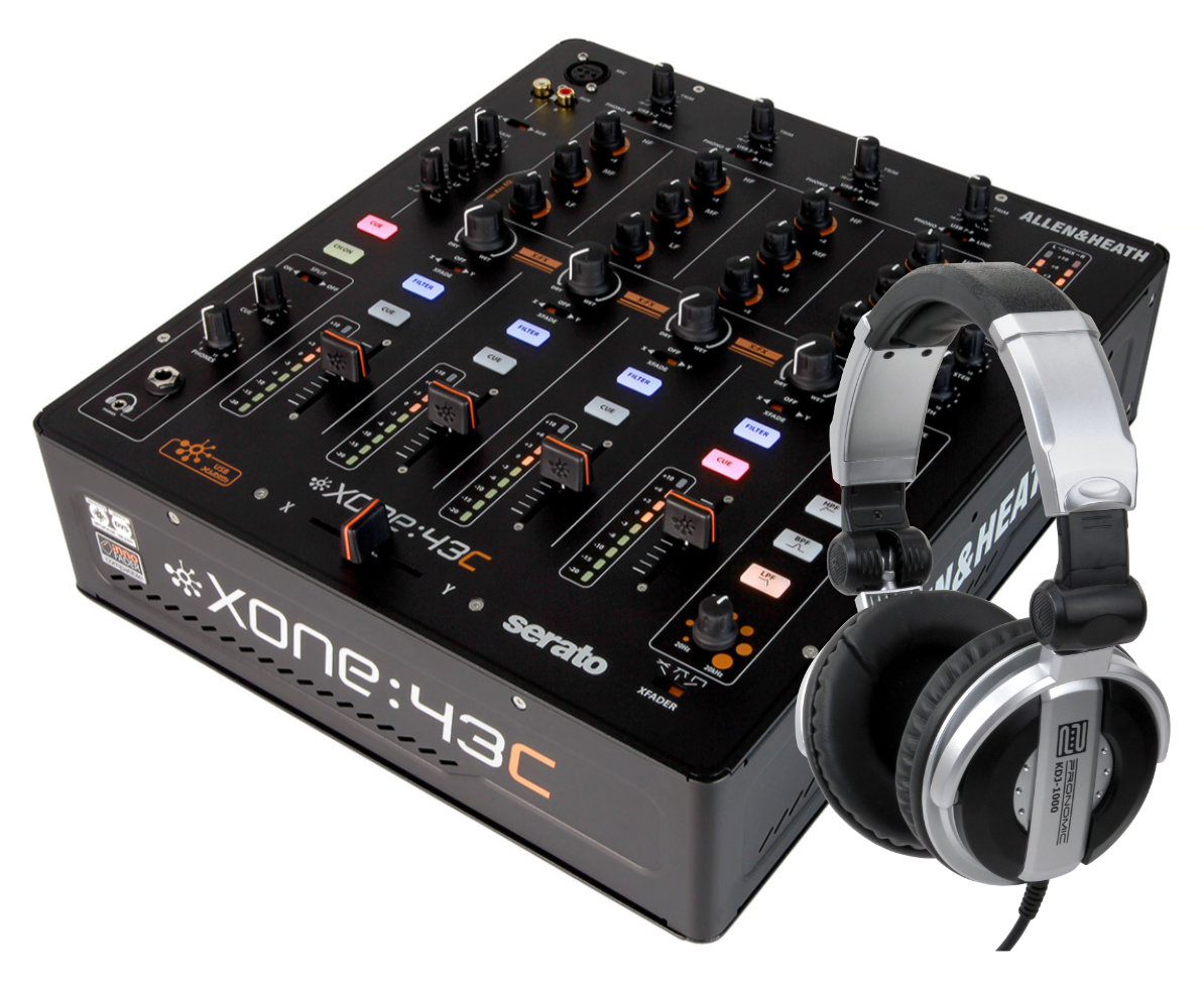 Djmixer - Allen Heath Xone 43C Set - Onlineshop Musikhaus Kirstein
