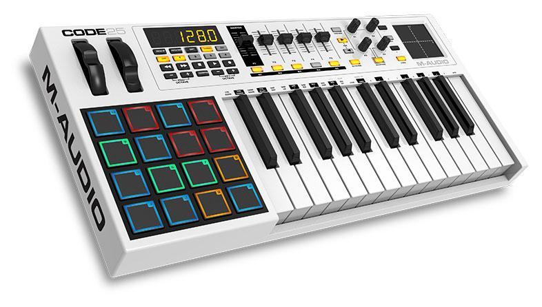 M Audio Code 25 USB|MIDI Controller