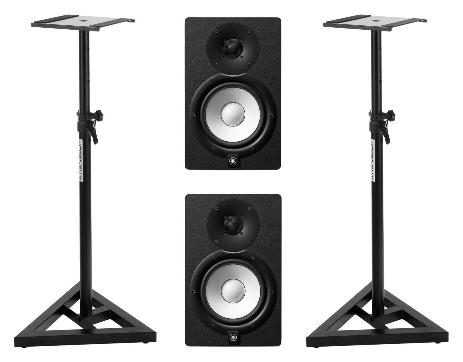 Studiomonitore - Yamaha HS7 MP Stativ Set - Onlineshop Musikhaus Kirstein