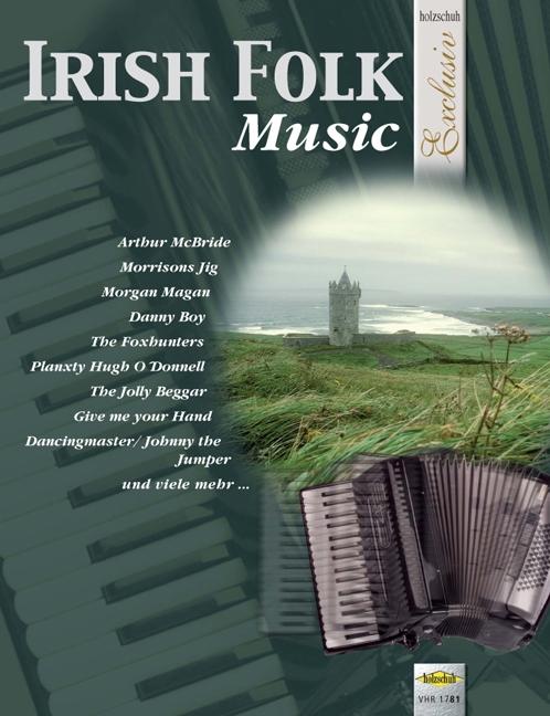 Akkordeonlernen - Irish Folk Music Noten für Akkordeon - Onlineshop Musikhaus Kirstein