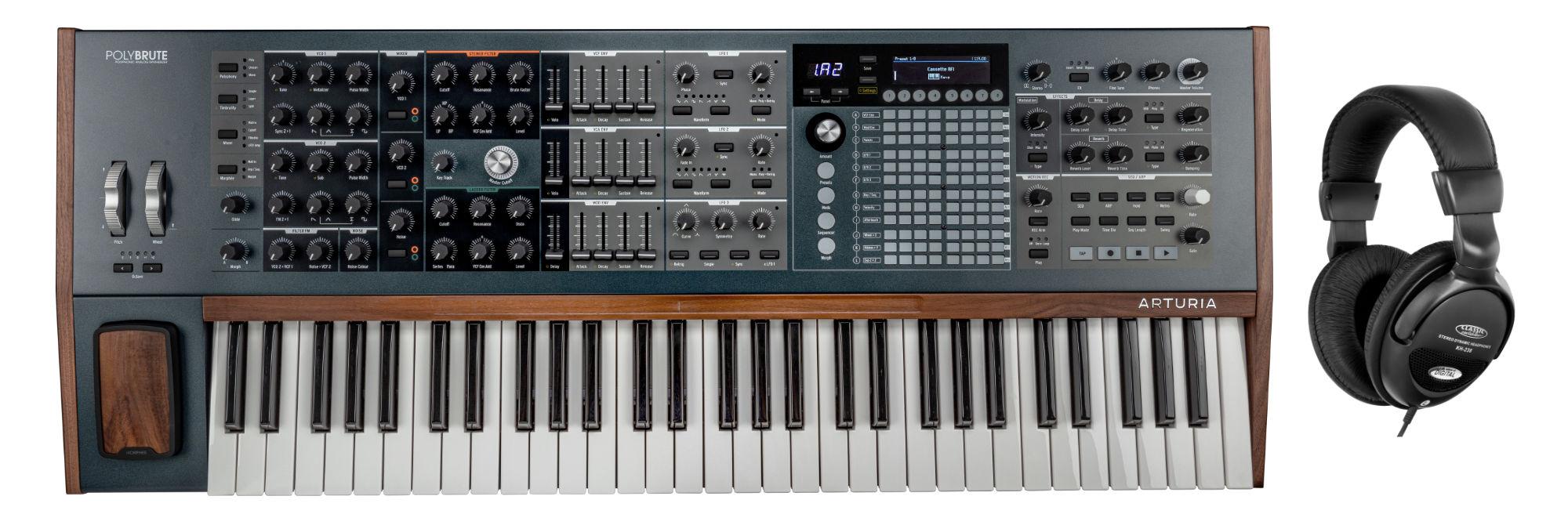 Synthesizer - Arturia PolyBrute Set - Onlineshop Musikhaus Kirstein