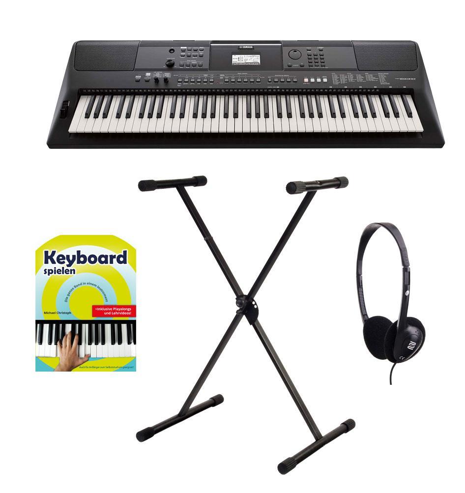 Yamaha PSR EW410 Keyboard Set