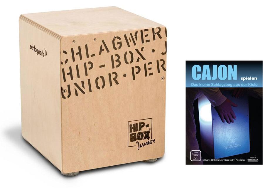 Schlagwerk CP 401 Hip Box Junior Cajon SET inkl. Cajonschule