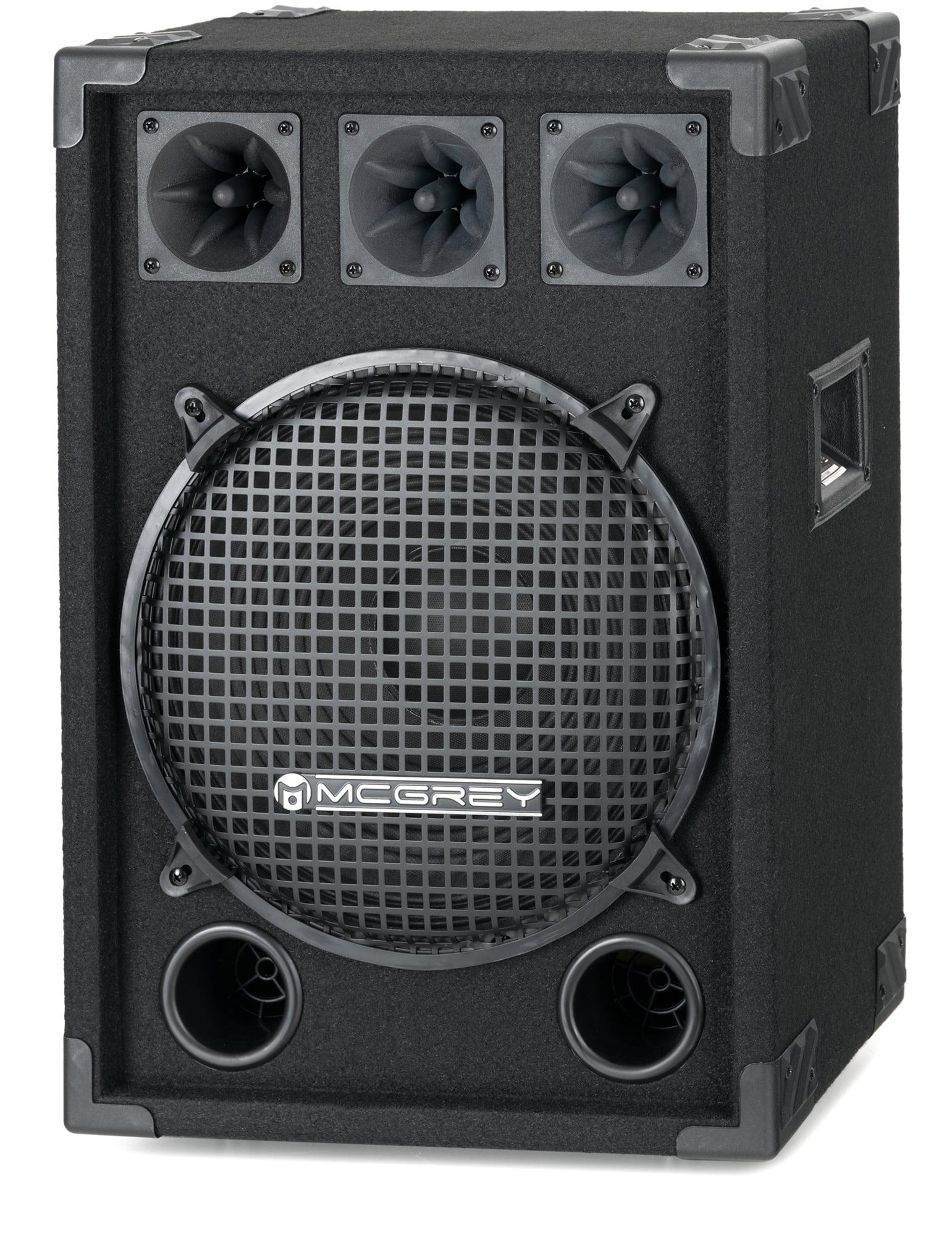 McGrey DJ 1222 Partykeller|DJ Box 600W