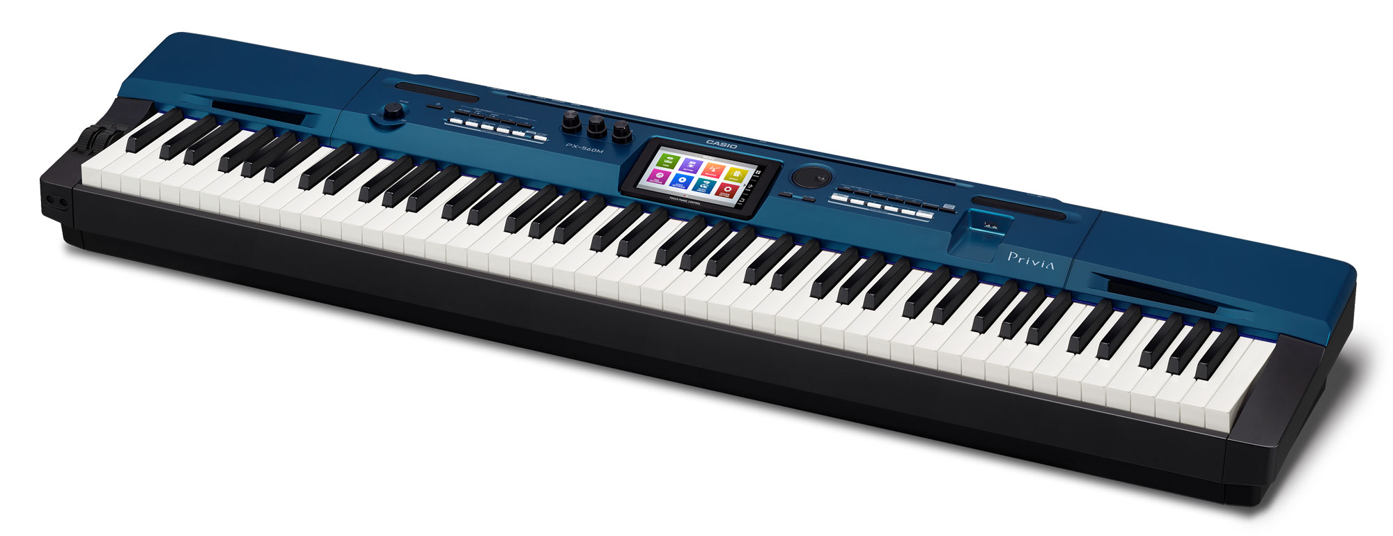 Casio Privia PX 560 MBE Stagepiano Blau