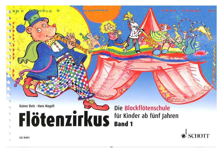 Floetelernen - Flötenzirkus Band 1 - Onlineshop Musikhaus Kirstein