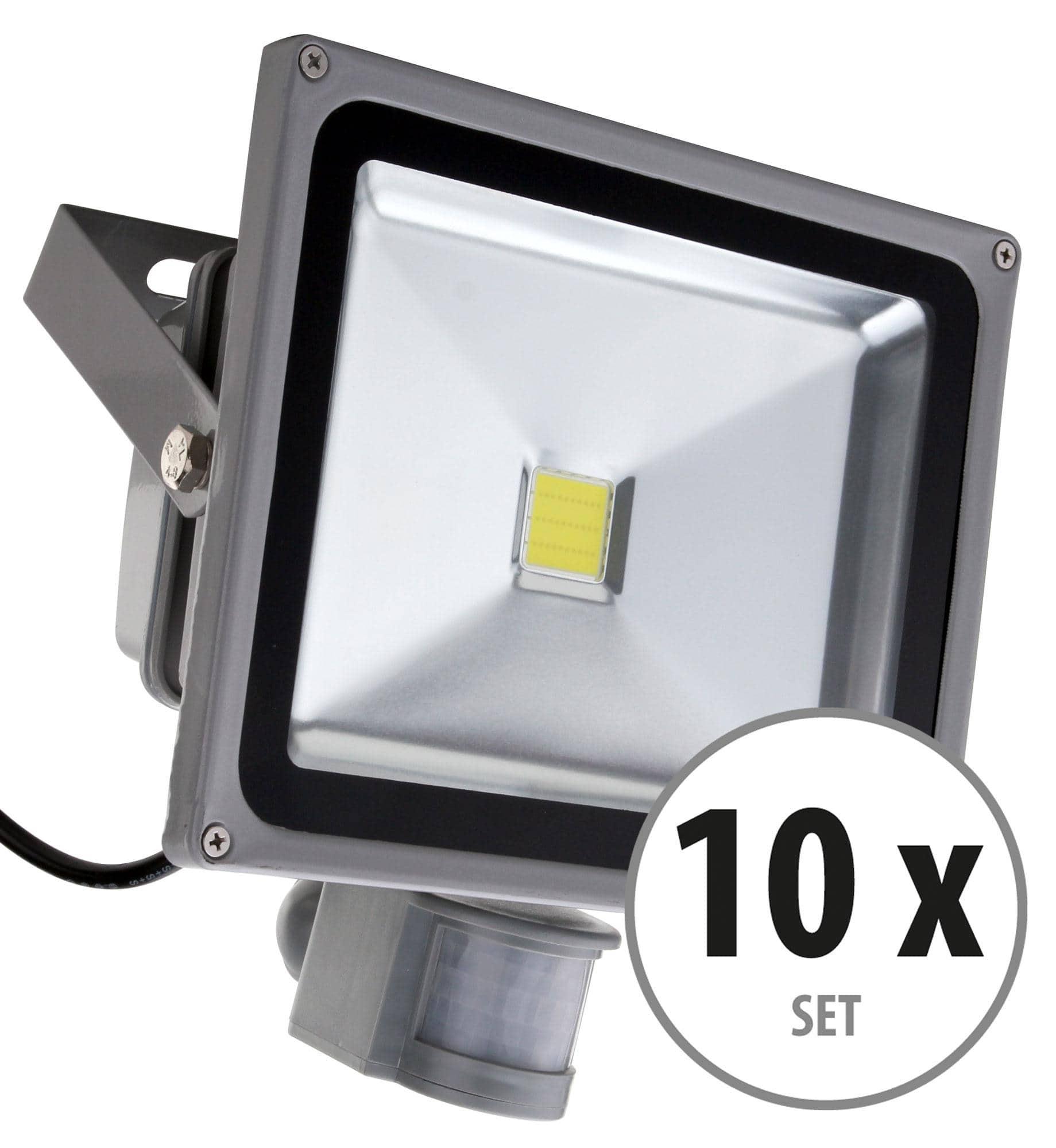 showlite fl 2030b led fluter ip65 30 watt 3300 lumen 10er set. Black Bedroom Furniture Sets. Home Design Ideas