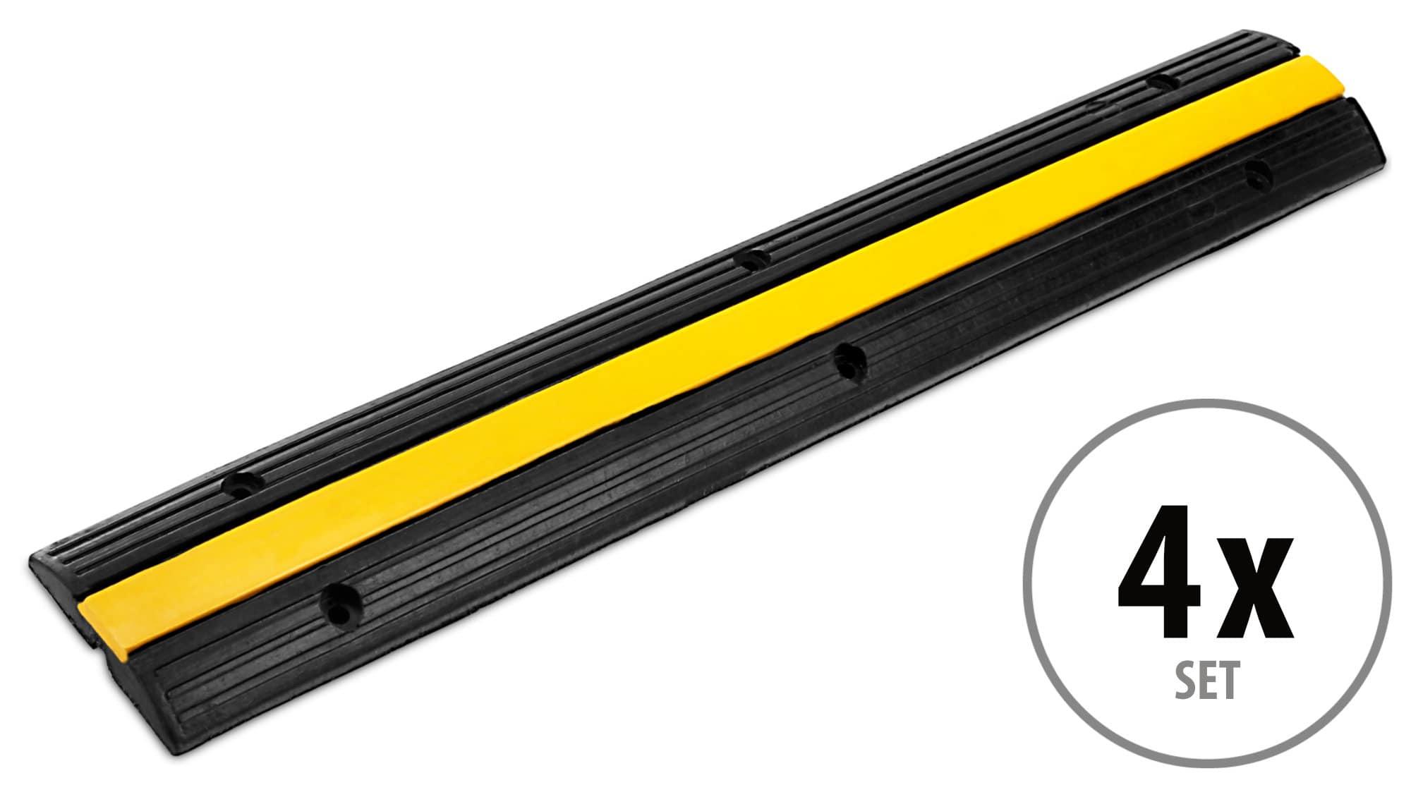 4x SET Pronomic Protector 1 100 Kabelbrücke 1 Kammer