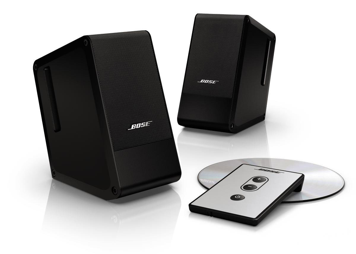 bose computer musicmonitor schwarz. Black Bedroom Furniture Sets. Home Design Ideas