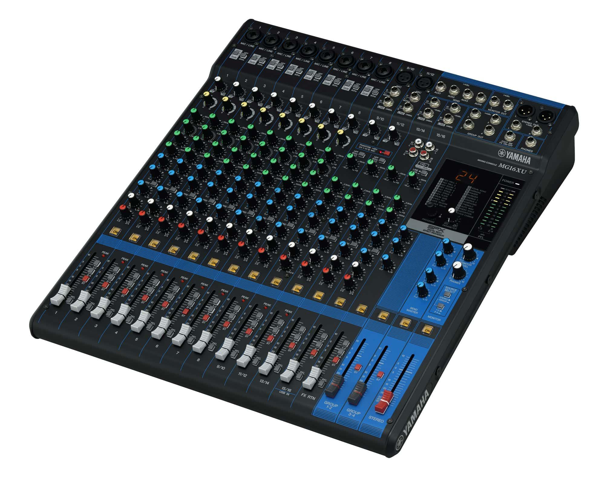 Mikrofone - Yamaha MG16XU Mischpult Retoure (Zustand sehr gut) - Onlineshop Musikhaus Kirstein