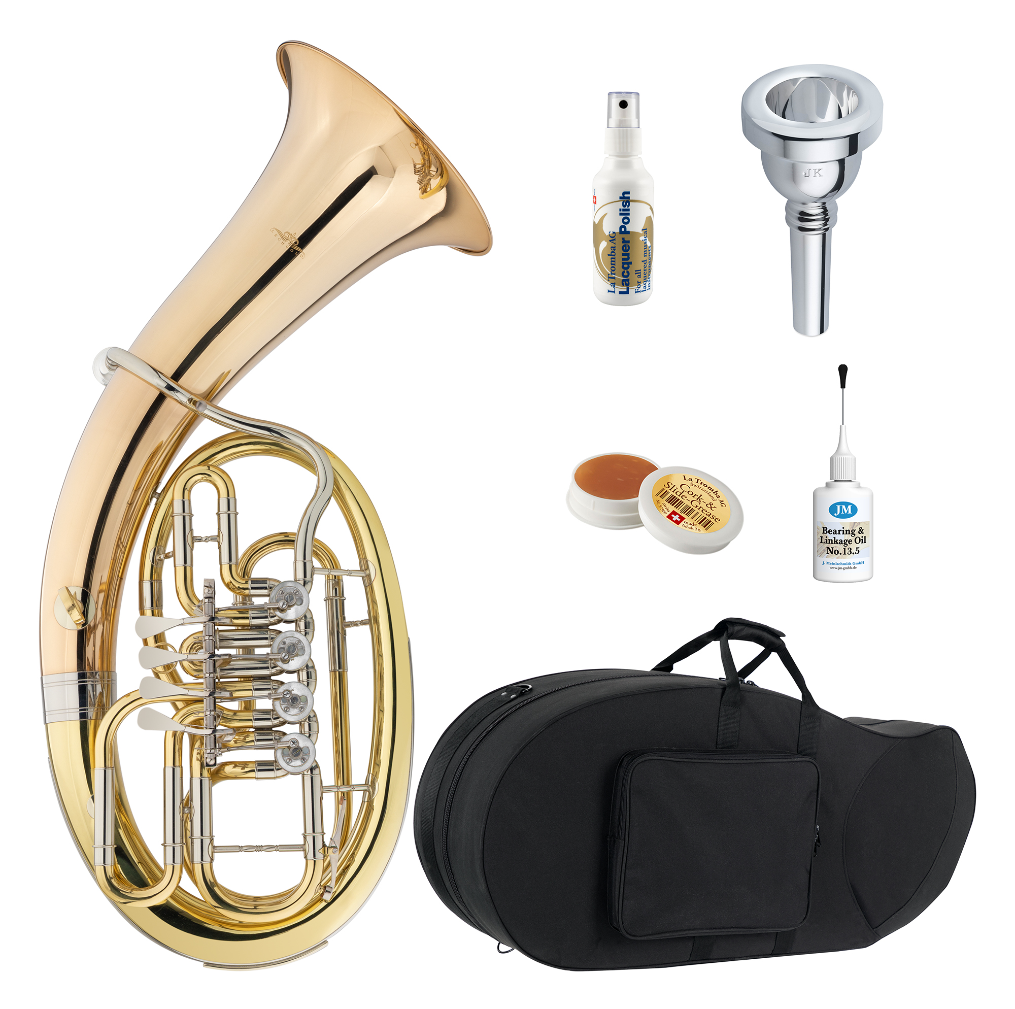 Baritone - Lechgold BH 19|4L Bariton Deluxe Set - Onlineshop Musikhaus Kirstein