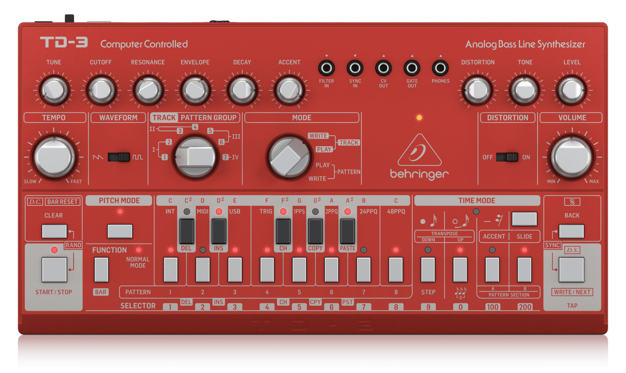 Synthesizer - Behringer TD 3 RD Bass Line Synthesizer - Onlineshop Musikhaus Kirstein