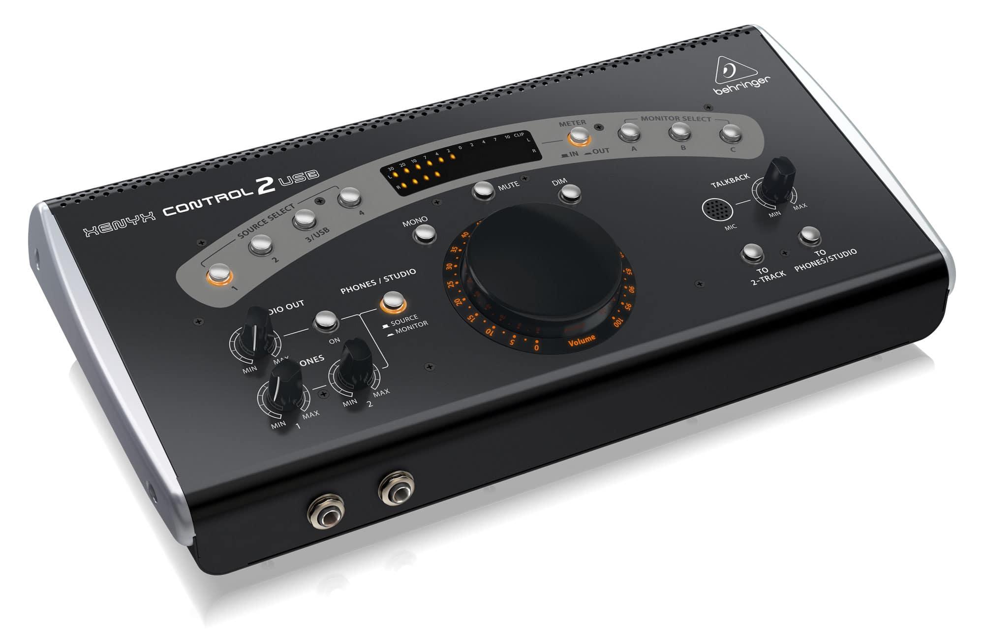 Studiomonitore - Behringer Control2USB Studio Monitor Controller - Onlineshop Musikhaus Kirstein