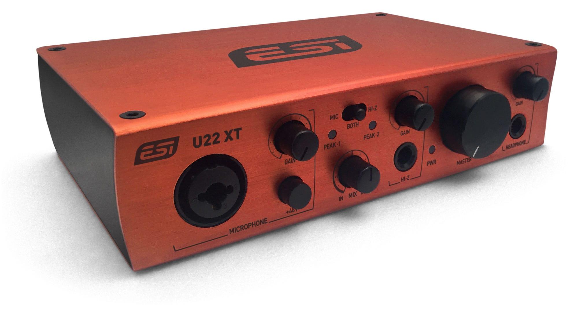 Pchardware - ESI U22 XT USB 2.0 Audiointerface - Onlineshop Musikhaus Kirstein