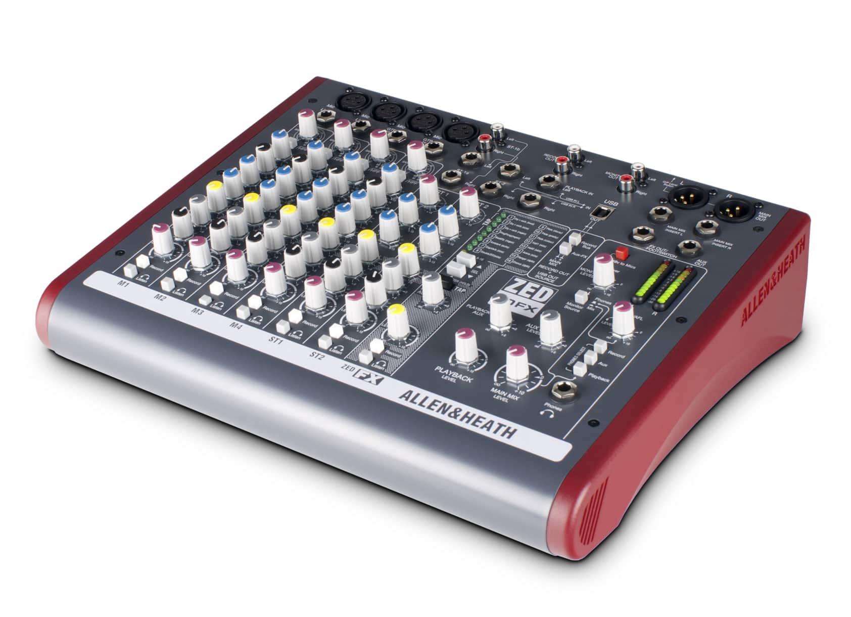 Mikrofone - Allen Heath ZED 10FX Retoure (Zustand sehr gut) - Onlineshop Musikhaus Kirstein
