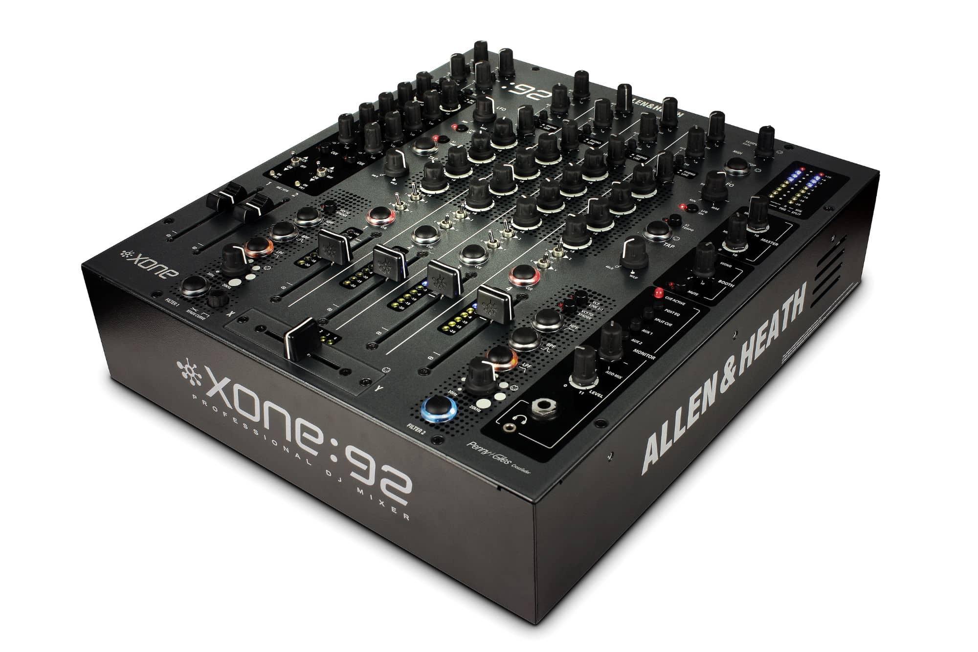 Djmixer - Allen Heath Xone 92 - Onlineshop Musikhaus Kirstein