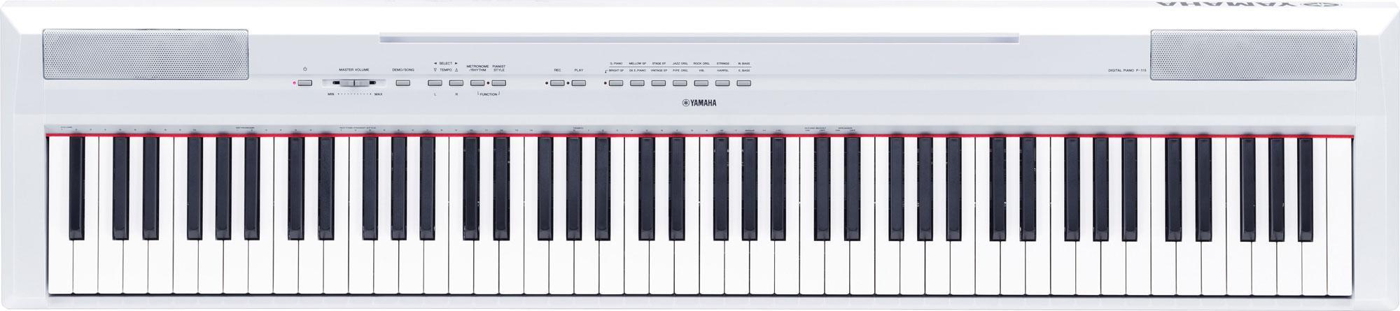 Yamaha P 115WH Stage Piano White