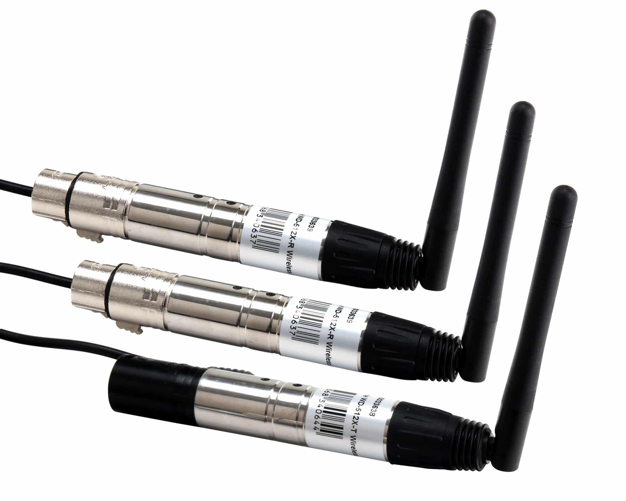 Showlite WD 512X TR Wireless QuickDMX Double Set 1 x Transmitter und 2 x Receiver