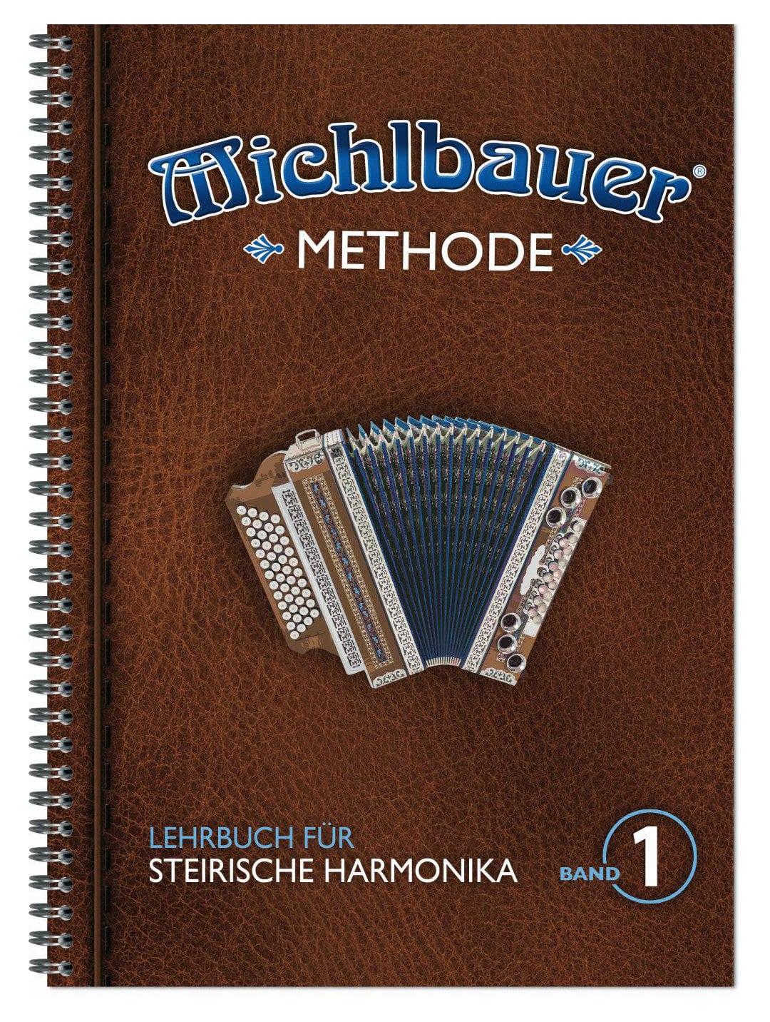 Akkordeonlernen - Michlbauer Steirische Harmonika Methode 1 - Onlineshop Musikhaus Kirstein